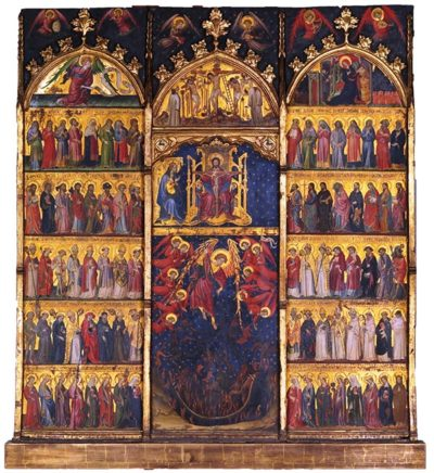 The Trinity adored by all the Saints - Metropolitan museum of art